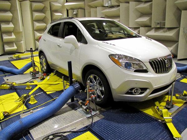 2014 Buick Encore's brakes