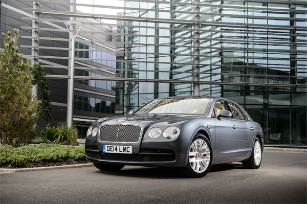 New Flying Spur V8