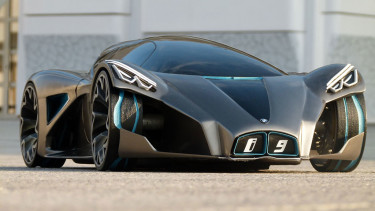 BMW i9 Concept Vehicle