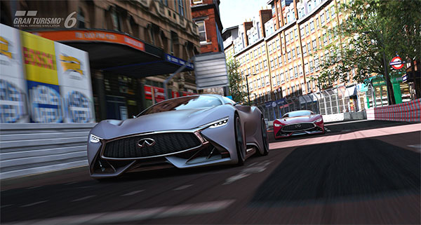 Infiniti Releases Vision Gran Turismo Concept for PS3