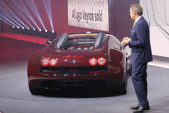 2015 Bugatti Grand Sport Vitesse