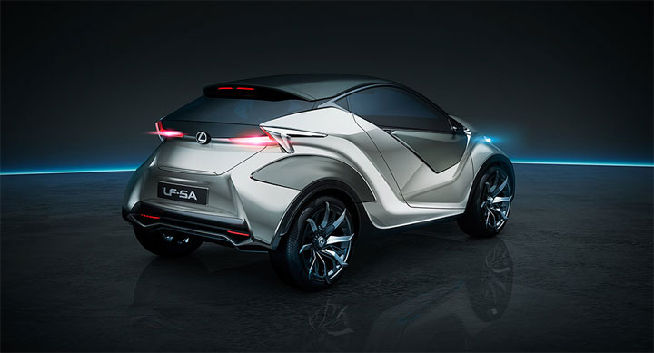 New Lexus LF-SA Concept