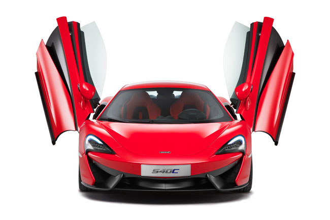 New McLaren 540C coupe