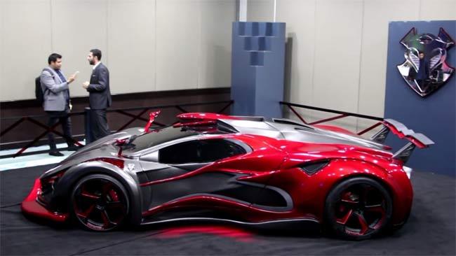 Futuristic-Supercar