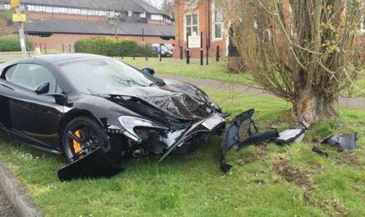 New McLaren 650S Crashes