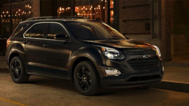 2017 Equinox Midnight Edition