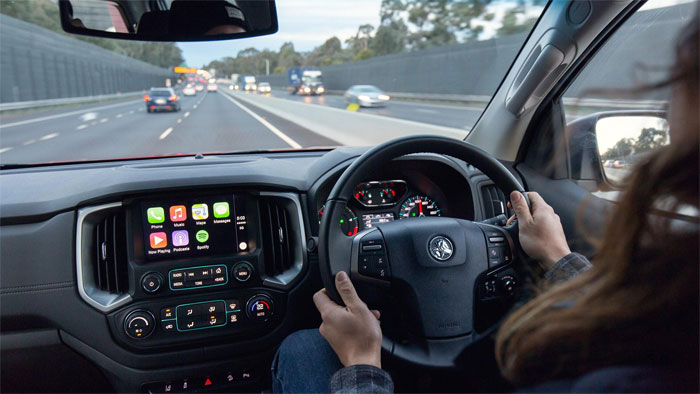 Holden Colorado Z71 Interior
