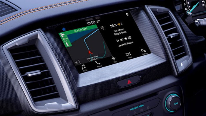 New SYNC 3 infotainment system