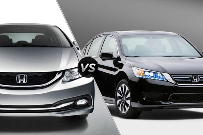 Honda Accord and Civic