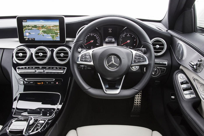 Mercedes C-Class Interior Design