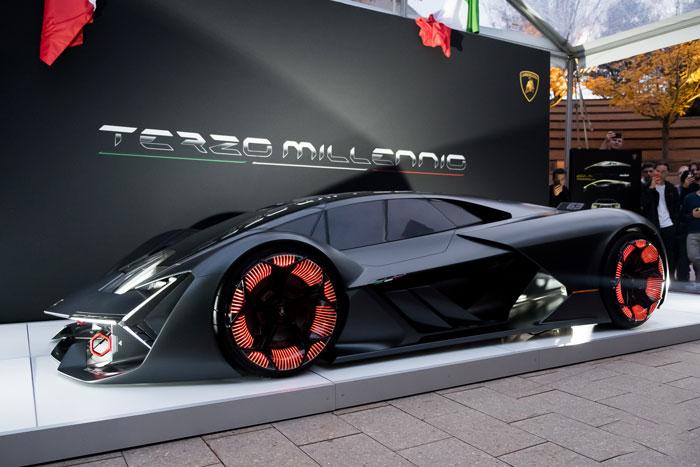 Real Demo Lamborghini Terzo Millennio