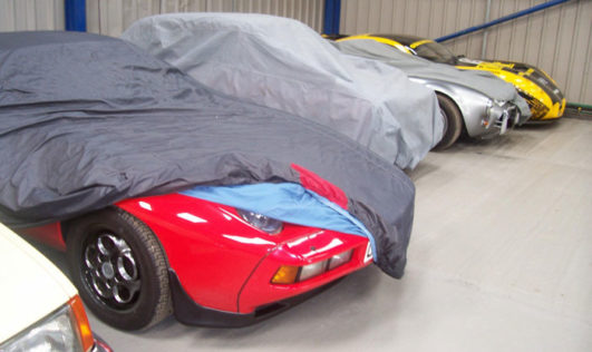 Storing Your Car