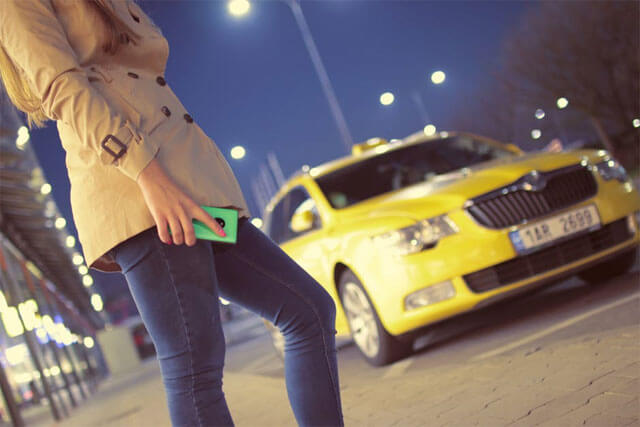 successful taxi driver
