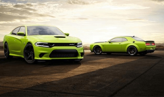 Dodge Challenger and Charger 2019