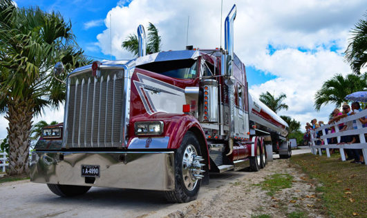 Semi Truck Chrome